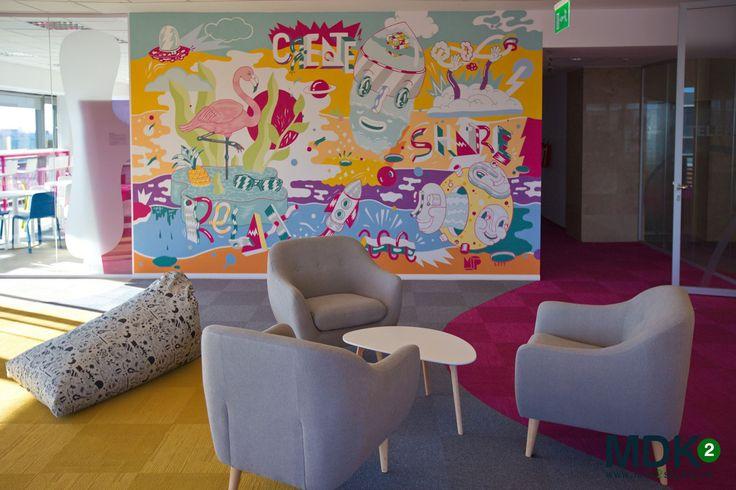Office design by MDK2Studio for Deutsche Telekom Services Europe - Romania