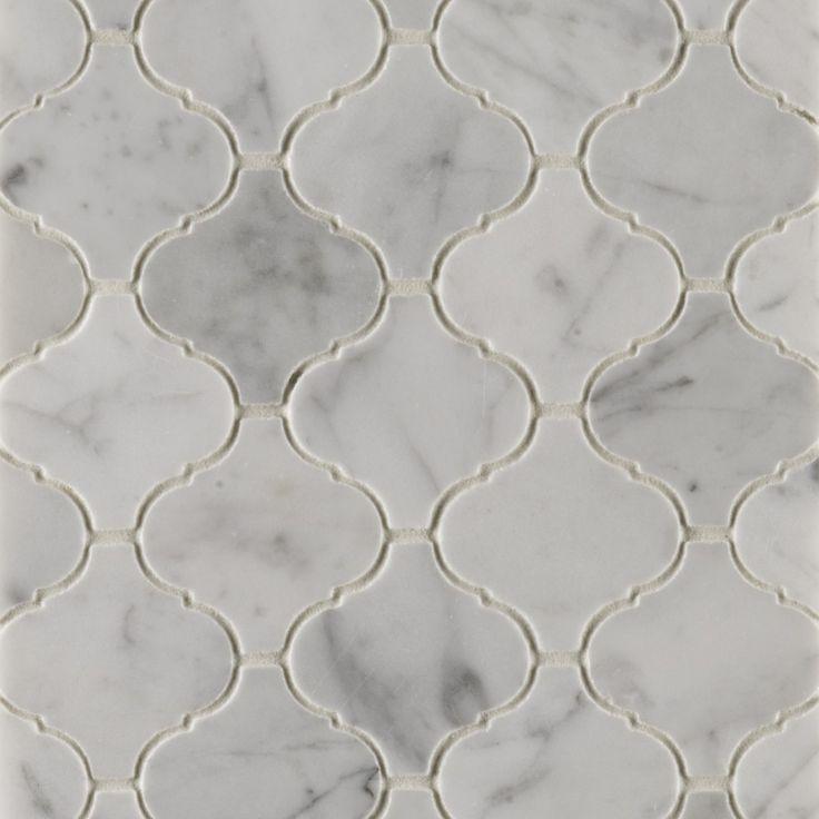 carrara mosaics ann sacks tile stone - Matchstick Tile Castle 2016