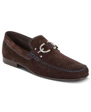 Donald Pliner Dacio Bit Loafers - Brown 9.5M