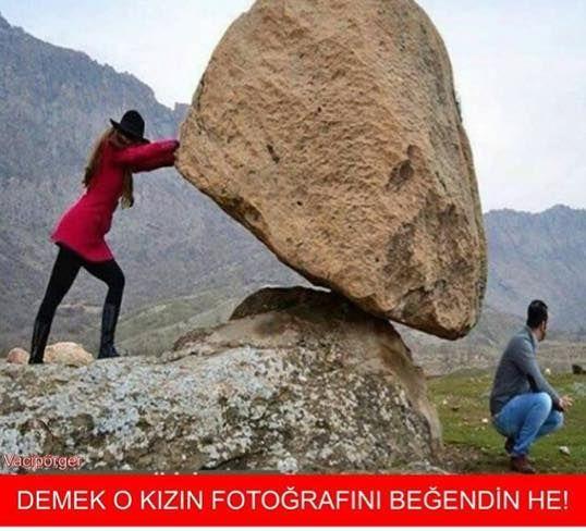 DEMEK O KIZIN FOTOĞRAFINI BEĞENDİN HE! #mizah #matrak #komik #espri #caps