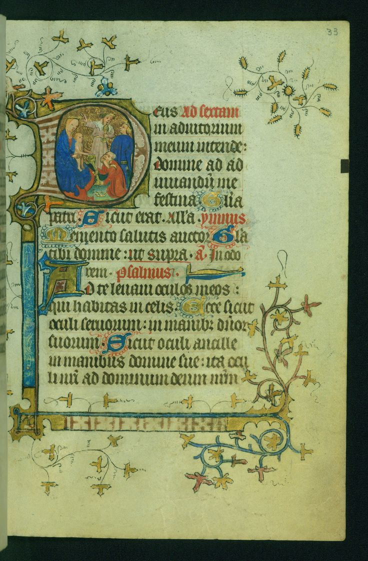 https://flic.kr/p/zjMTA7   Book of Hours, Adoration of the Magi, Walters Manuscript W.170, fol. 33r   This Book of Hours was originally completed ca. 1430-1440 but has since been reconstructed, with several prayers and suffrages having been added to it over time. The miniatures were illuminated under the influence of the Master of Guillebert de Mets. Both the original and a subsequent owner are depicted in prayer on fols. 9v and 165v, respectively. The book was rebound by Joris de Gavere of…