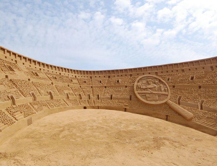 Удивительные скульптуры из песка | Блог Nikkuro | КОНТ