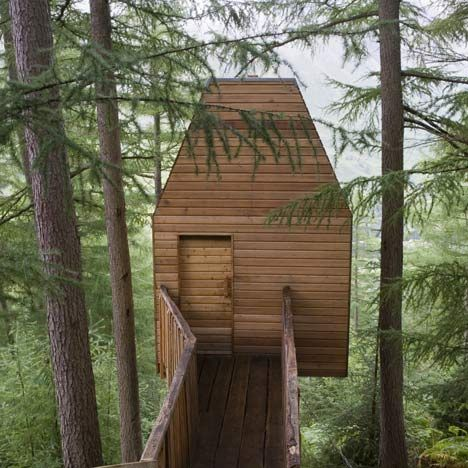 Artist Studio / Treehouse by Malcolm Fraser Architects...I wishArtists Studios, Art Studios, Architects Workspaces, Tree Houses, Dreams House, Fraser Architects, Trees House, House Art, Malcolm Fraser