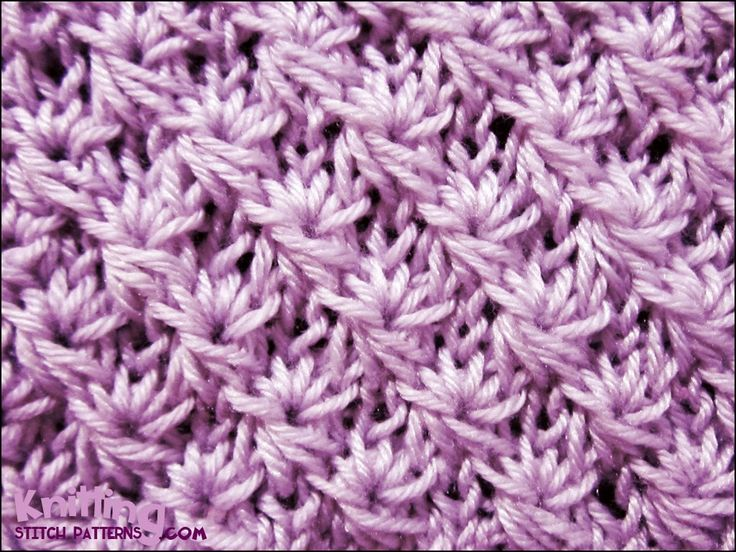 Knitting Techniques And Patterns : Knit daisy flower stitch how to knitting patterns