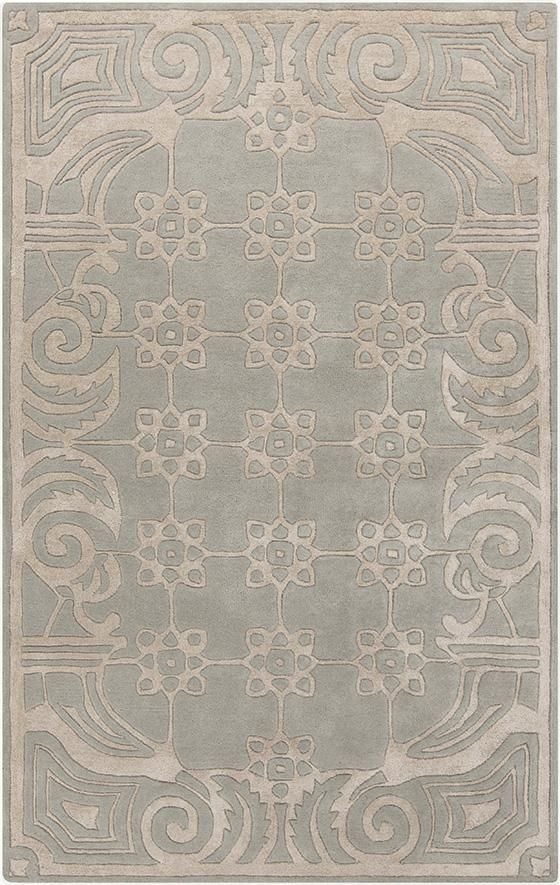Reminiscent Of A Floor From An Earlier Time  Love The Simple Pattern And  Cool Tones. The New Paris Collection Of Rugs From Surya.