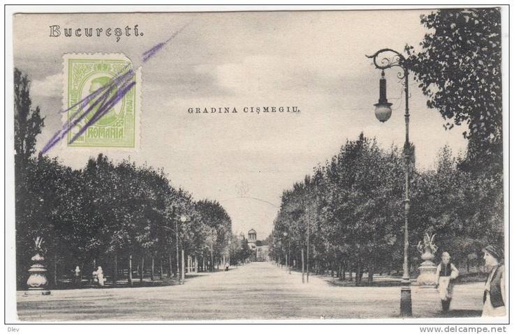 Bucuresti - Gradina Cismegiu - antebelica