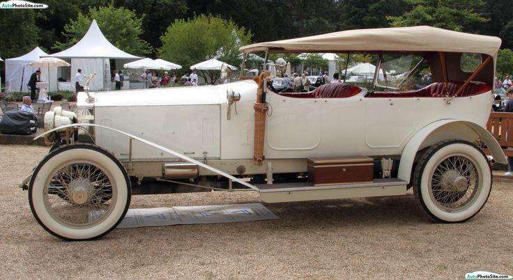 1914 Rolls Royce Silver Ghost Dual Cowl Phaeton Vehicles