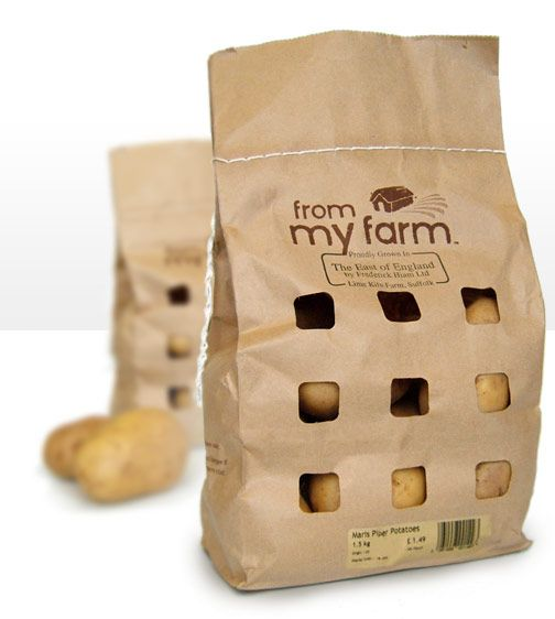 environmentally friendly packaging (sewn close)