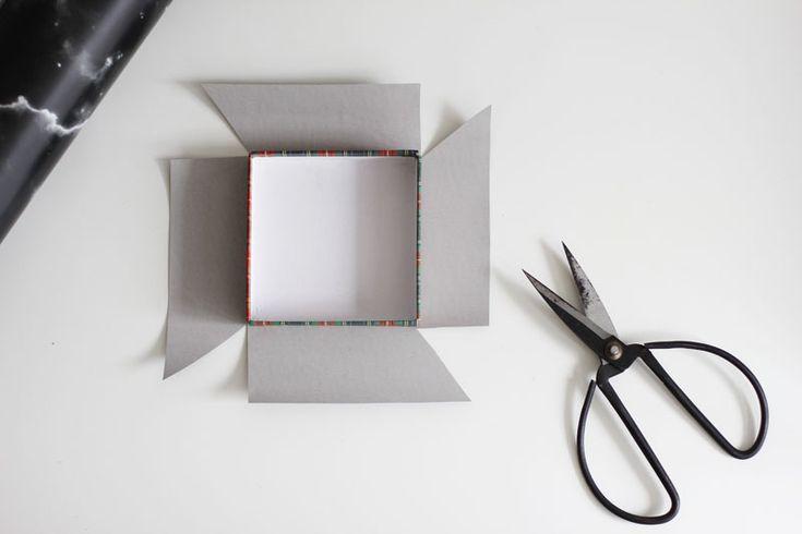 Marmor-Box Folie zuschneiden |we love handmade