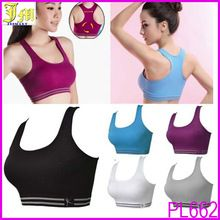 New Hot Sexy Girls Seamless Sports Bra Yoga Fitness Padded Stretch Seamless Gym Tank Top Bra Best Seller follow this link http://shopingayo.space