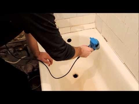 Реставрация ванны жидким акрилом своими руками. Plastall Украина - YouTube