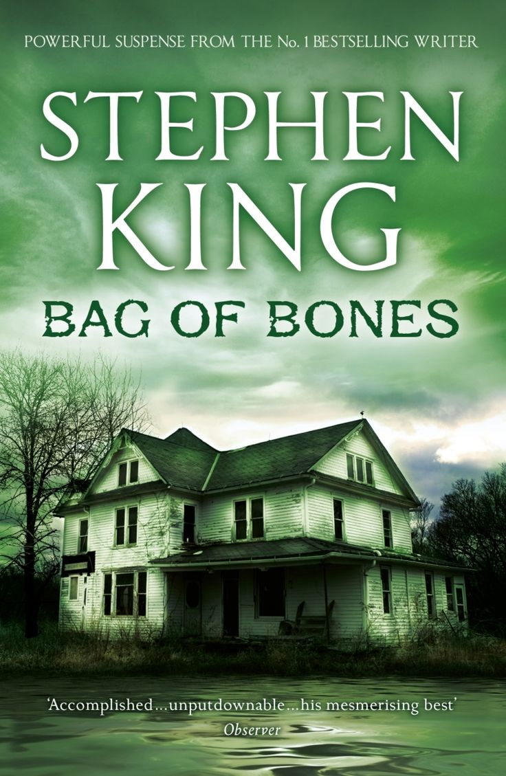 an analysis of the novel bag of bones by stephen king Home book reviews horror bag of bones, by stephen king bag of bones, by stephen king december 27  the title reappears in the book about a dozen times (i got .