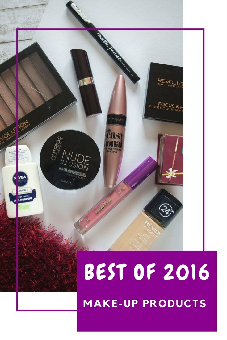 Best Make-up Products I Tried in 2016 | Top Favorites of 2016
