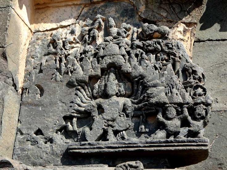 Kasivisvesvara Shiva temple, Lakkundi, Gadag, Karnataka, India
