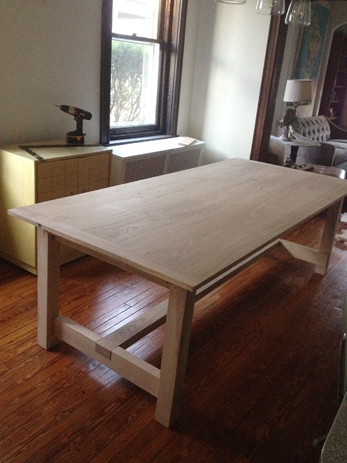 Dining room table DIY    #futurebuildprojectBeer Cap, Dining Room, Farmhouse Table