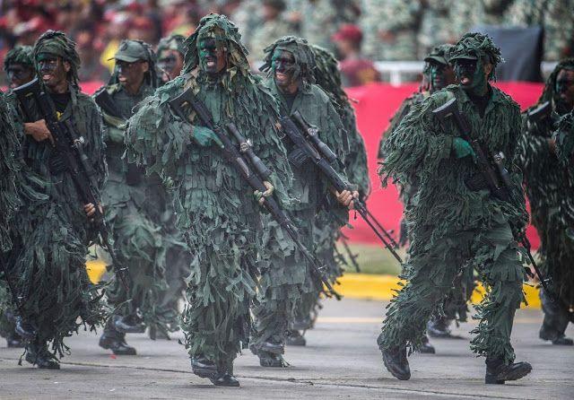 ¿Cuán grande es el poder militar de Venezuela?