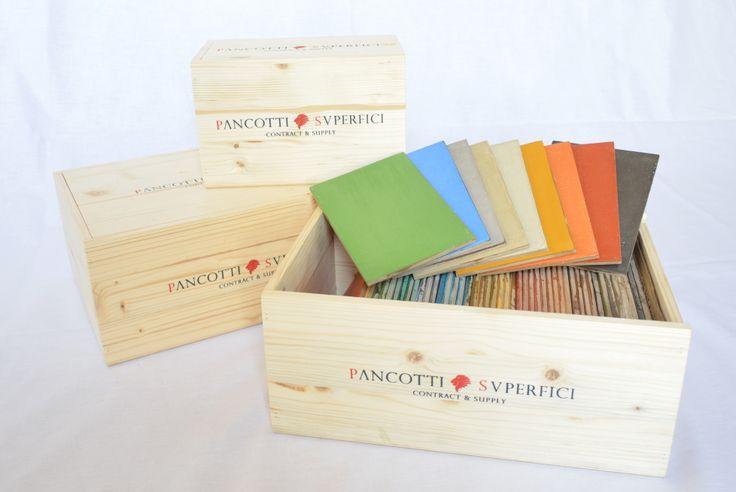 Pancotti Superfici | Collezione Colori 2014 | kit colori