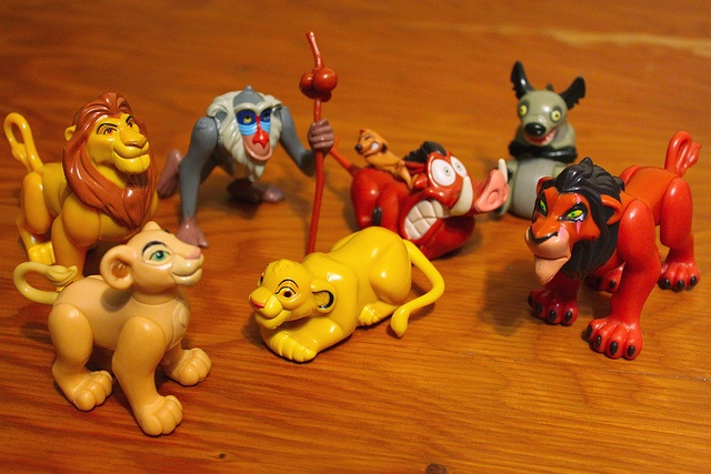 I actually had all of these! Simba rolled over. Scar was my favorite though...