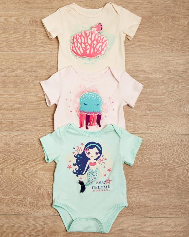 #ABCEarlyLearning Bodysuits para tocar, jugar y descubrir... Fashion kids >> http://www.offcorss.com/newborn #OFFCORSS