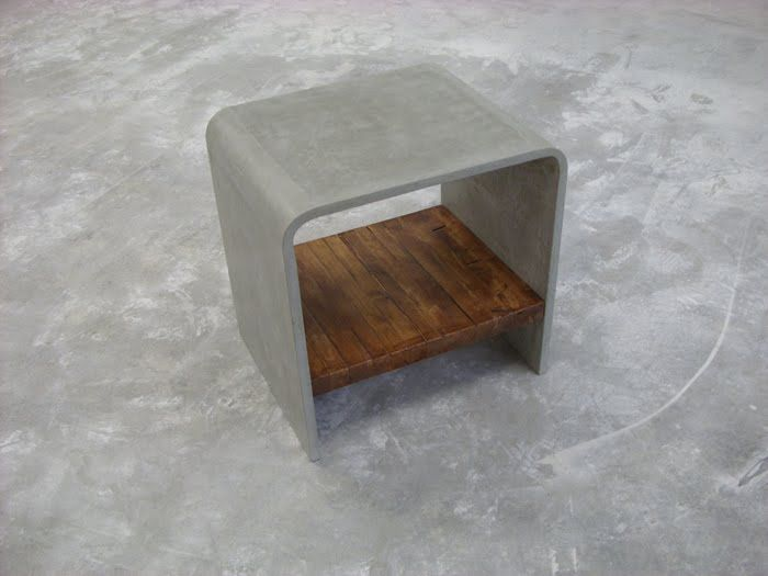 dyi concrete shelve - Google Search