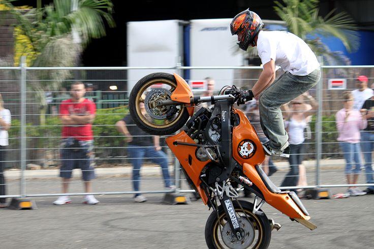 Mr Grant SCR at Bankstown bike show.....
