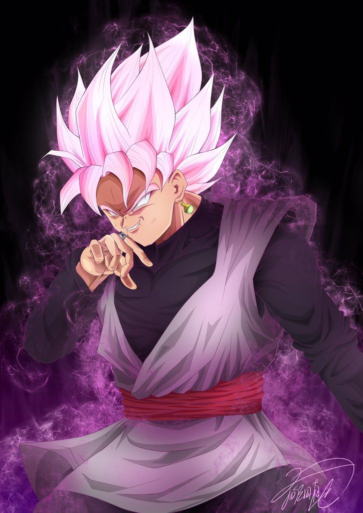Incorporato Anime king, Super saiyan rose, Anime