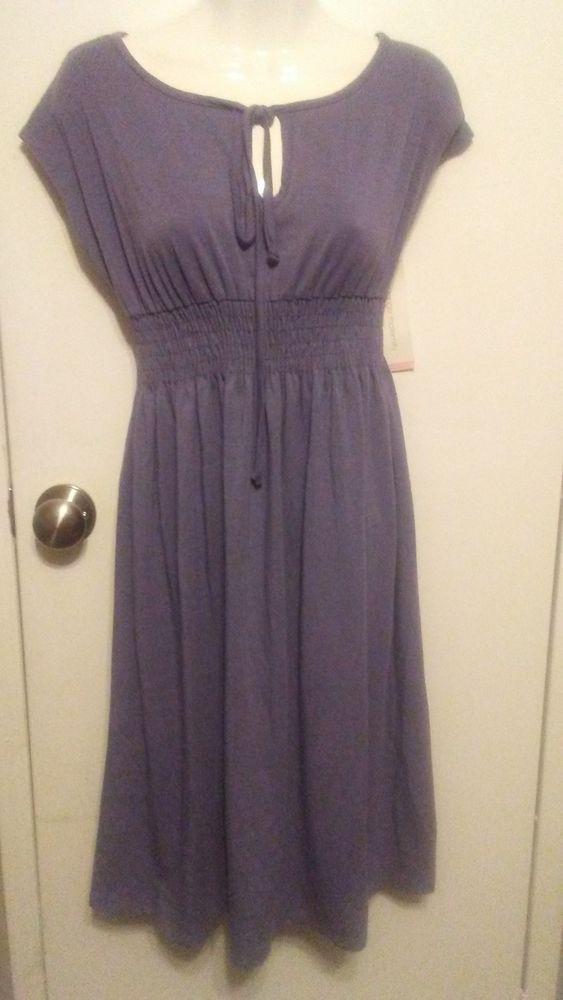 d584b70b02370 Liz Lange Maternity Blue Dress Size XS Brand New #fashion #clothing #shoes  #accessories #womensclothing #maternity (ebay link)