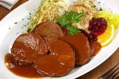 Der köstliche Rehbraten ist sehr zart, wohlschmeckend und fettarm. Wildliebhaber werden von diesem Rezept begeistert sein.