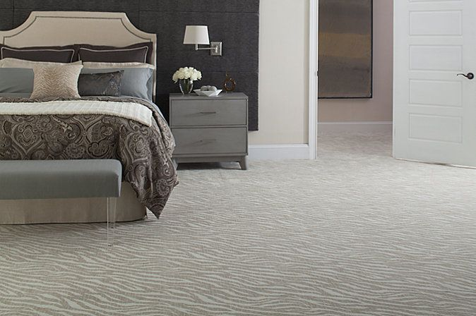 Karastan's Savanna Scenes in Radiant Zebra, a trendy yet subtle shade will find a home in a variety of décors.