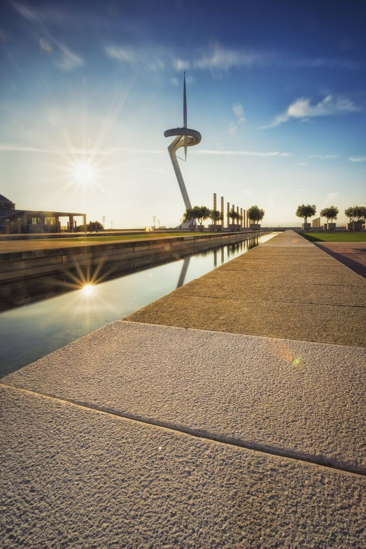 Barcelona Olympic Park in Montjuic by Francesco Domesi on 500px