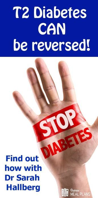You CAN Reverse Diabetes: Dr Sarah Hallberg Explains How!!
