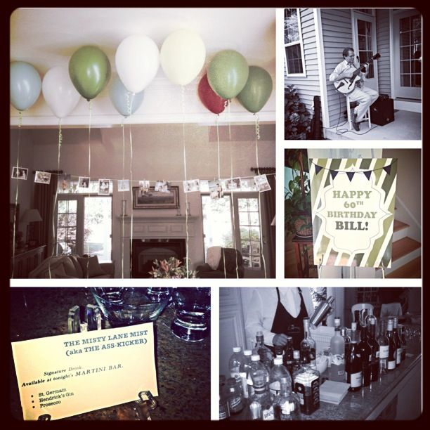 Decorations For My Step Dad S 60th Surprise Birthday Party