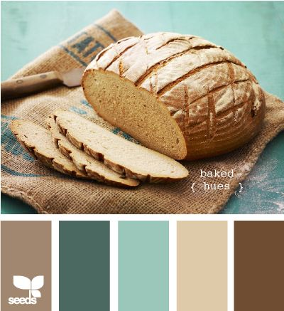 master closet ~  I think the light cocoa color with an aqua stripe for the master closet and then dark colored wood clothes organizer: Baked Hues, Color Palettes, Color Schemes, Living Room, Master Bedroom