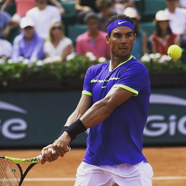 Focusing on 1  #RG17 #Nadal : Philippe Montigny / FFT