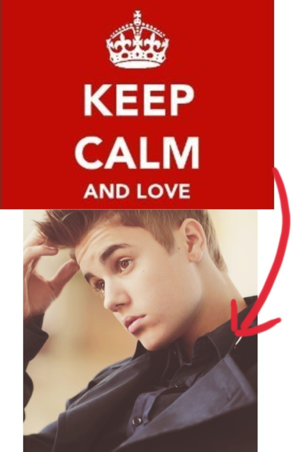 """""""keep calm and love justin drew bieber :))"""" by leonazielinski ❤ liked on Polyvore"""