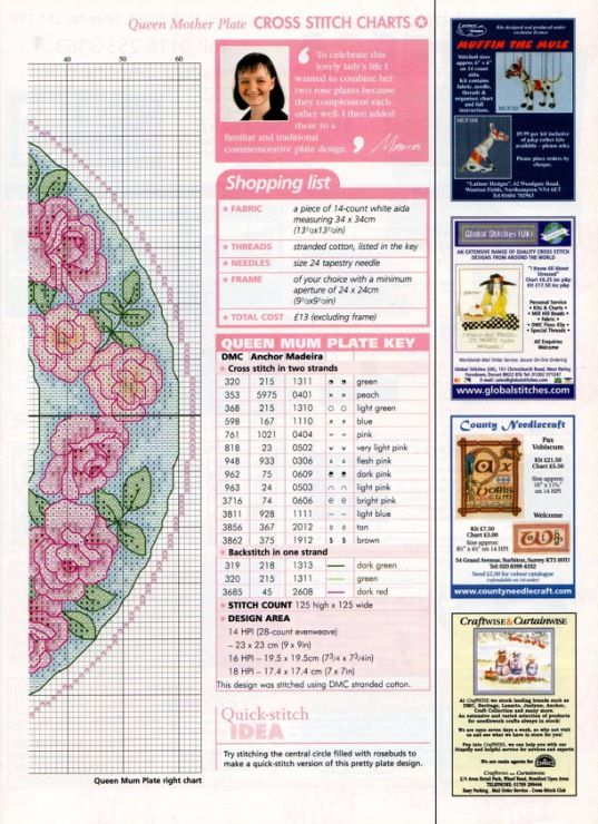 Gallery.ru / Фото #34 - The world of cross stitching 061 август 2002 - WhiteAngel