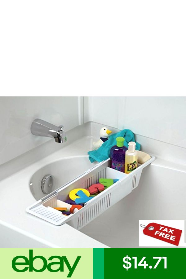 White Free Ship . No Tax KidCo Bath Toy Organizer Storage Basket