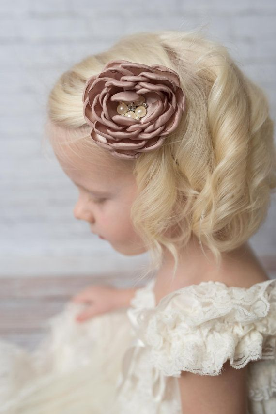 Bridal Hairstyle With Rose : 356 best girls hairstyles and accessories images on pinterest