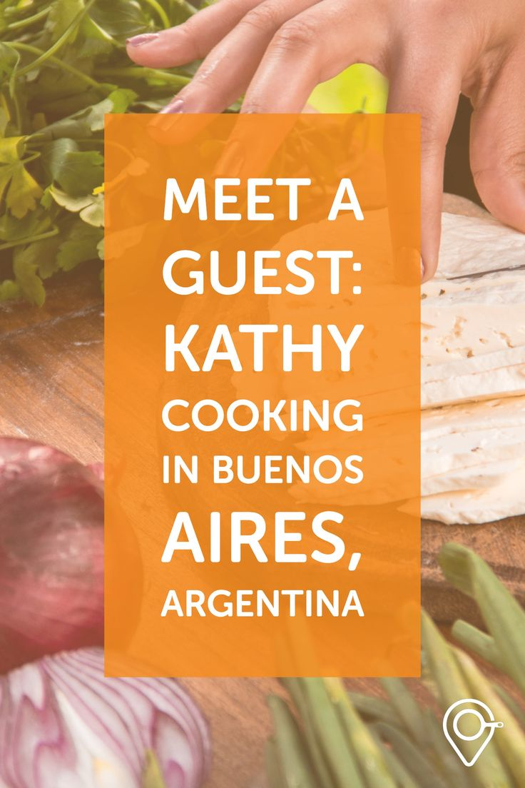 Today, meet a new guest! Kathy is from Dominican Republic and she was with us cooking in Buenos Aires, Argentina. On this picture, she is making slices of goat cheese for the empanadas we cooked on the grill. When I asked her to tell me 1 word about this day, she said INNOVATIVE! #food #travel #takemecooking