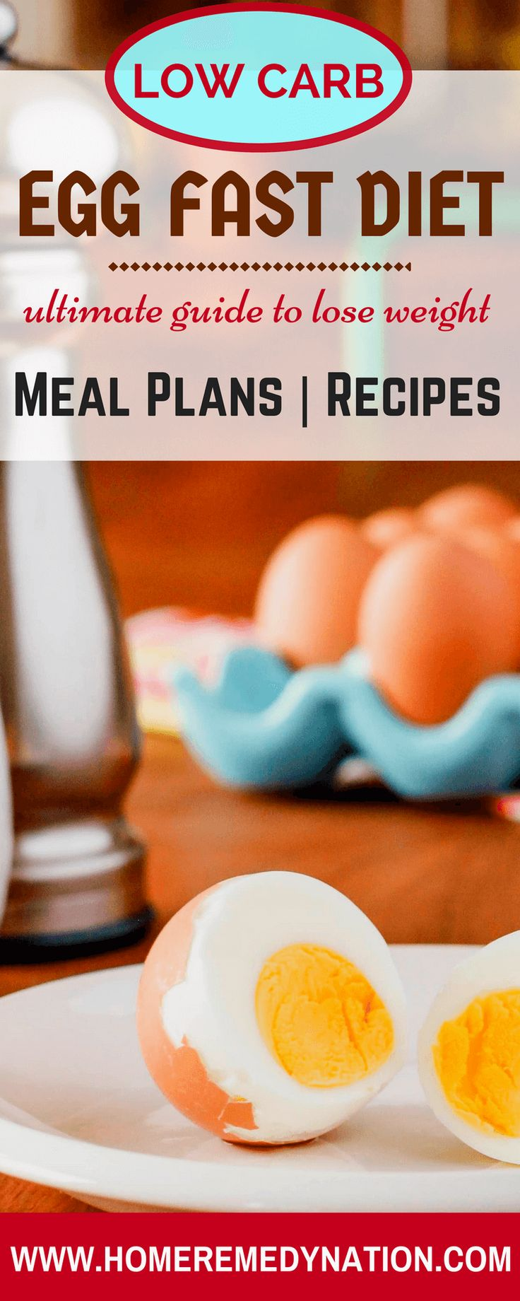 Egg Fast Diet Plan Recipes for Weight Loss | Home Remedy Nation