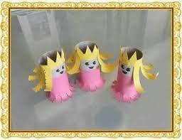 Resultado de imagem para rei com rolos papel higiénico