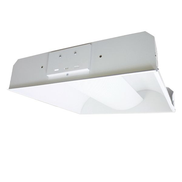 Texas Fluorescents 2X2 2 Lamp T8 LED Center Basket Troffer - 30 Watt - 3,400 Lumens - 5000K