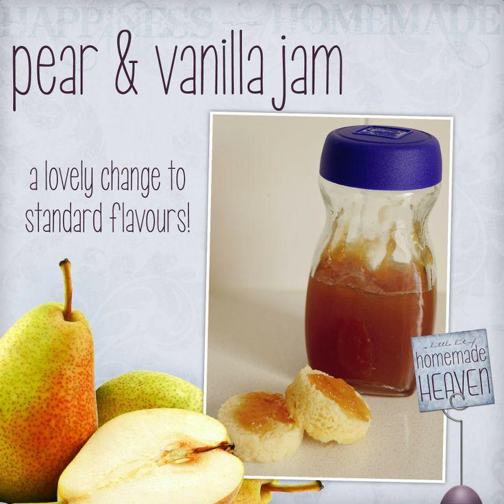 A Little Bit Of Homemade Heaven: Pear Jam