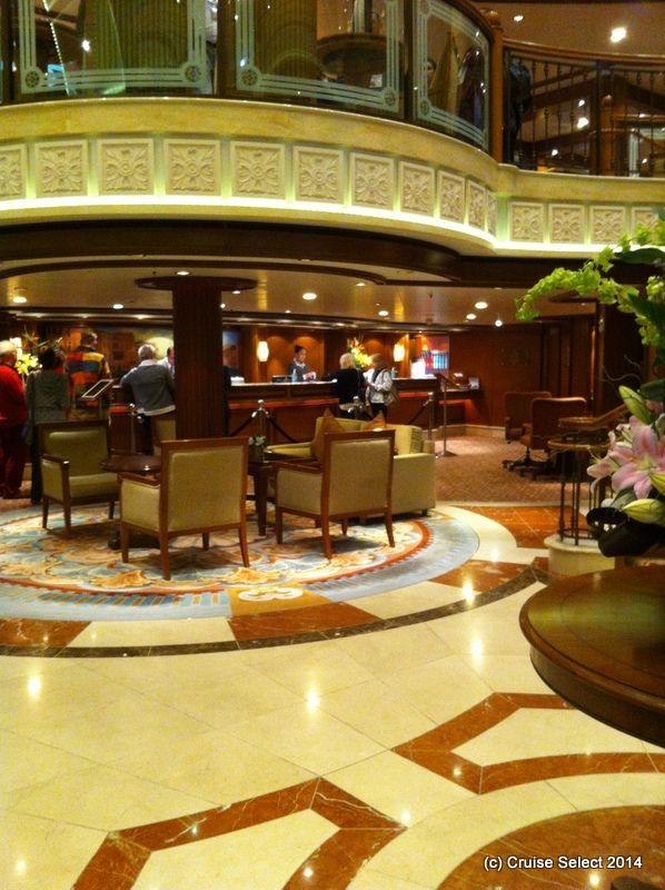 Cunard - The Grand Lobby - Aboard Queen Victoria