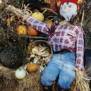 Doing crafts with children is one of the most enjoyable parts of the fall season. A scarecrow may seem elaborate, but it can be easy enough for children to create. They'll need some adult supervision, but the creative aspects of making a scarecrow means it's an ideal project for children. A standing scarecrow requires a bit more work, so make the...