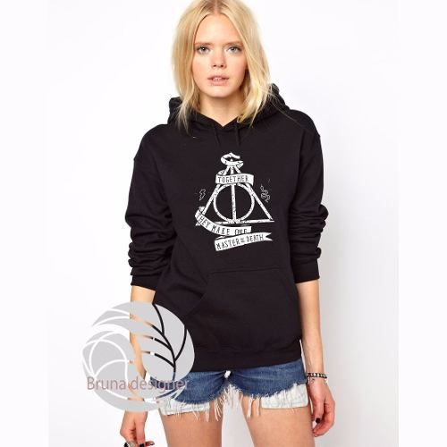 Blusa Moletom Hogwarts Harry Potter - R$ 69,90