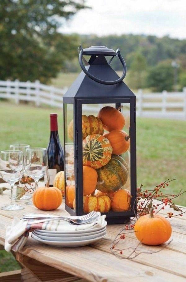 Herbstdeko Aus Naturmaterialien Selber Machen 33 Tolle Und Ganz Einfache Ideen Decoration Pinterest Herbst Dekoration And