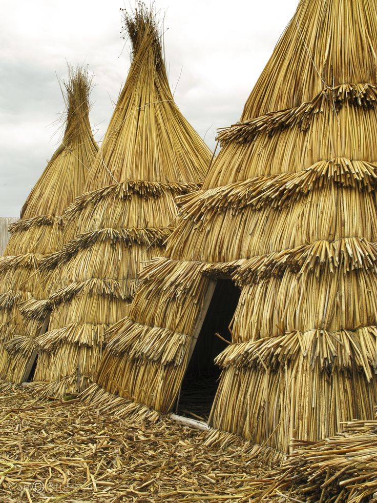 The Floating Huts of Uros by Carl Ottersen on 500px