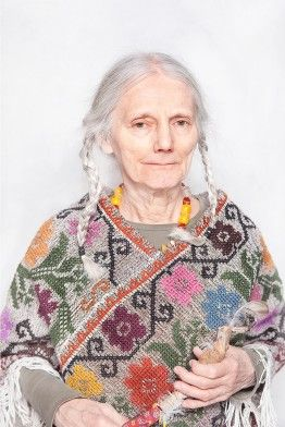 "Katarzyna Majak, ""Maria Ela, Shaman Wise Women Council"" from Women of Power series(via http://www.kobietymocy.com/kobiety,27.html)"