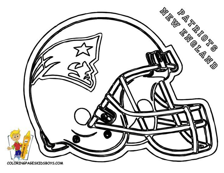 Patriots Coloring Page Football Pinterest Patriots